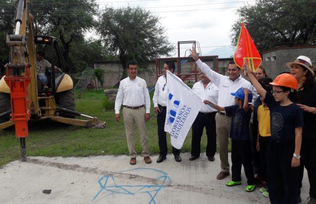 Rehabilitan unidad deportiva en San Ciro