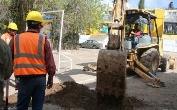 Arranca construcción de área recreativa en colonia Pavón