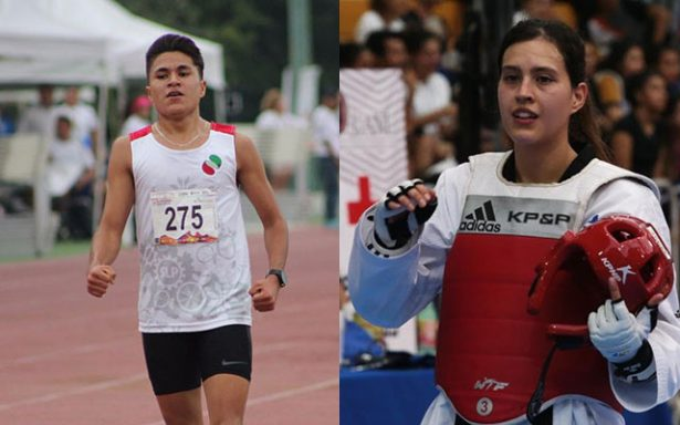 Arturo Israel Reyna y Melissa Oviedo, ganadores del Premio Estatal del Deporte 2017
