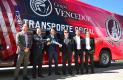 Atlético de San Luis recibe flamante autobús de lujo