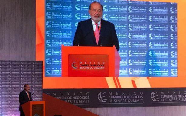 No tengo vocación para ser líder: Carlos Slim