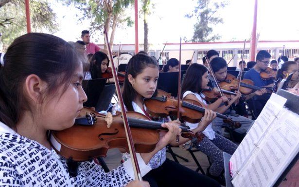 Celebran 3 años de La Orquesta Sinfónica Juvenil de Matehuala