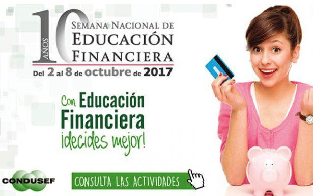 Impulsa Condusef en niños la educación financiera