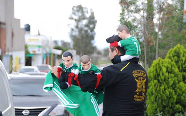 Mayor control de ambulantes al exterior del Lastras para el partido de la Selección