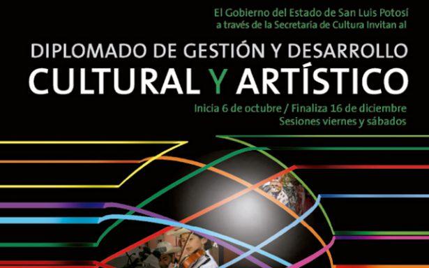 """Realizarán """"Diplomado de Gestión y Desarrollo Cultural y Artístico"""""""