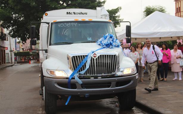 Adquieren nuevo camión para mejorar servicio de limpia