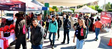 Participan 25 empresas en Expo Mecánica