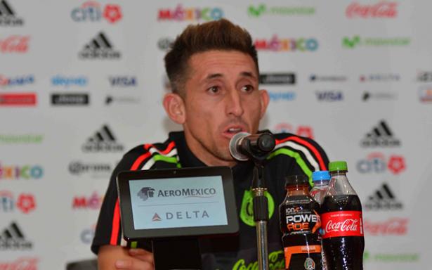 Estamos con Osorio a muerte: Héctor Herrera