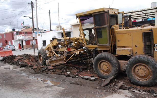 Inicia rehabilitación de pavimento en la calle Ignacio Altamirano