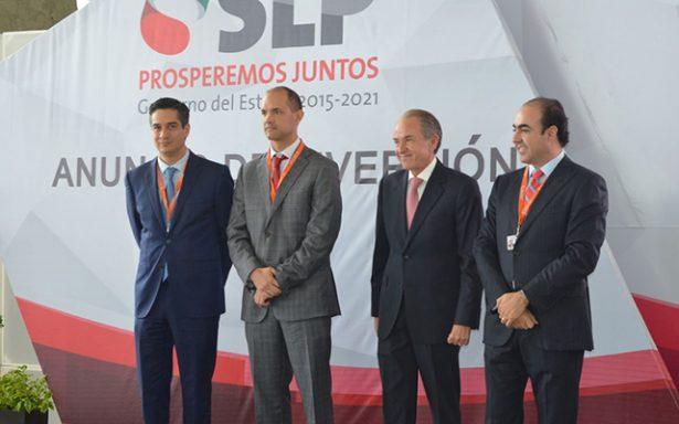 Anuncia JMCL inversión de empresa potosina por 360 mdp