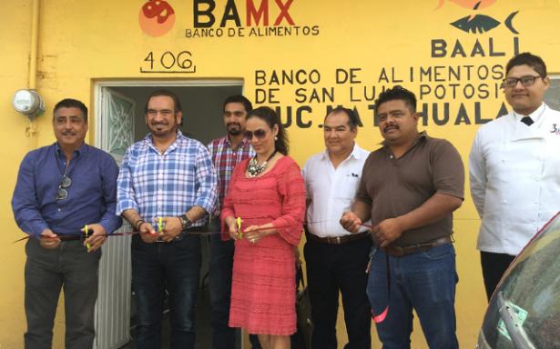 Inauguran nuevas instalaciones del Banco de Alimentos