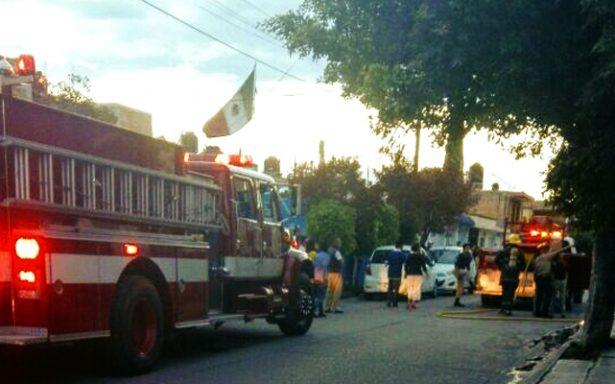Reportan Incendio en colonia Providencia