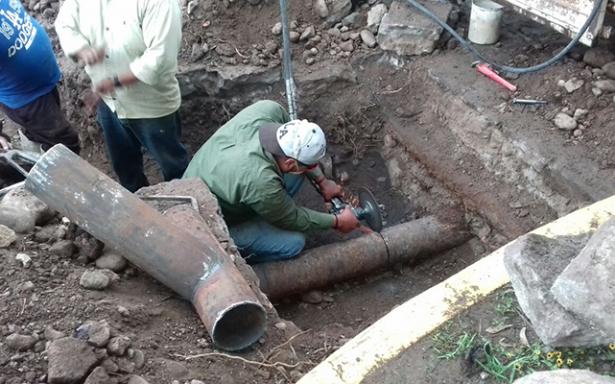 Invierte Interapas más de 100 mil pesos en obras