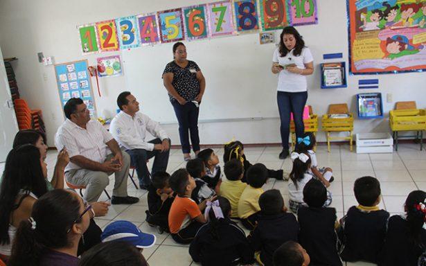Promueven hábito de la lectura en Jardín Juan Ruiz de Alarcón