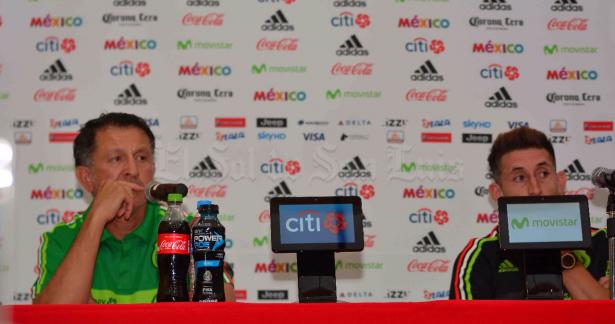 No venimos a pasearnos, sino a ganar: Juan Carlos Osorio