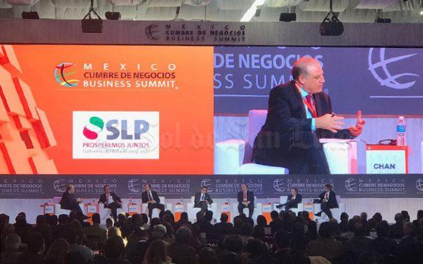 """Da inicio en SLP """"México, Cumbre de Negocios"""""""