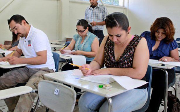 Tercera evaluación a maestros será en noviembre, confirma el SNTE