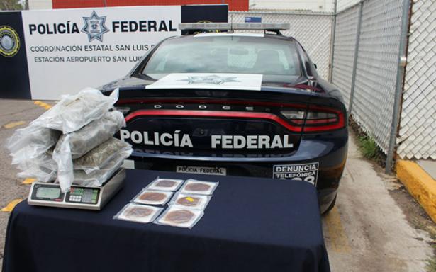 Aseguran droga y medicamentos controlados en el Aeropuerto
