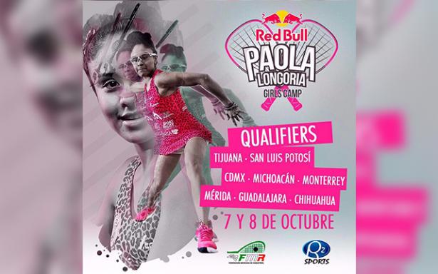 "SLP tendrá torneo ""Paola Longoria Girls Camp"""