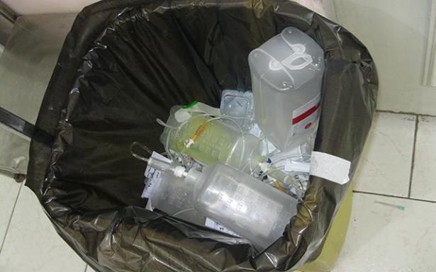 Verifican hospitales cumplan con disposición final de residuos tóxicos