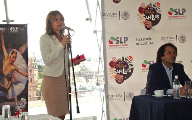 Se presentó en rueda de prensa fel XVII Festival de San Luis