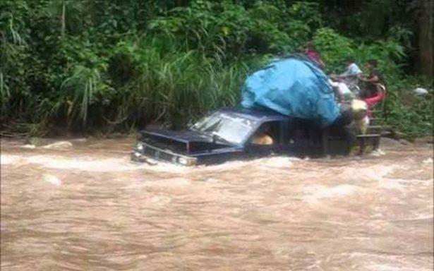 Río en Tanlajás