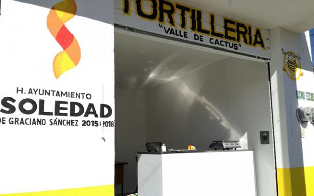 Inauguran Noveno expendio de tortillas