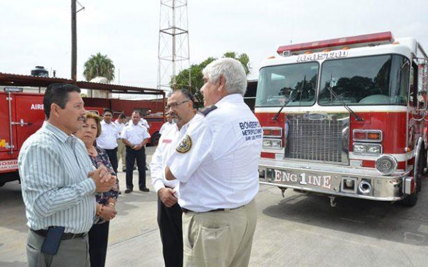 Ayuntamiento reafirma su apoyo a bomberos