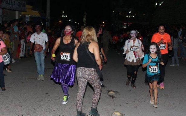 Carrera Atlética Zombie Run III fortalece la recreación y el turismo hacia el municipio