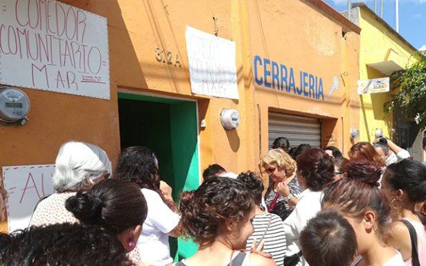 Inaugura asociación civil comedor comunitario
