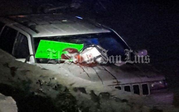 Explosión en San Luis Potosí lesiona a cuarto agentes estatales