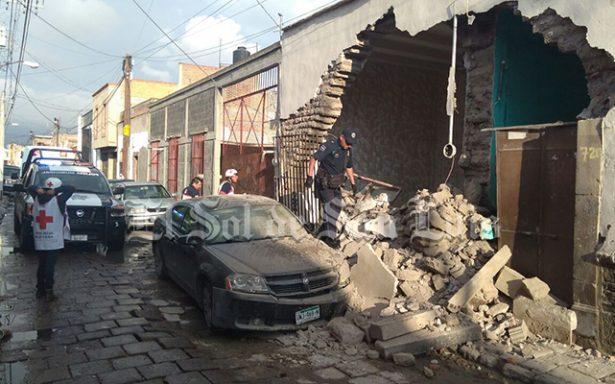 Se derrumba vivienda en Gómez Farías
