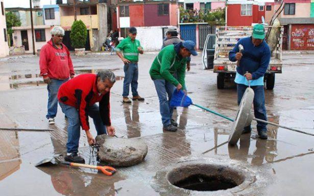 Intensifican trabajos de desazolve preventivo para días de lluvias