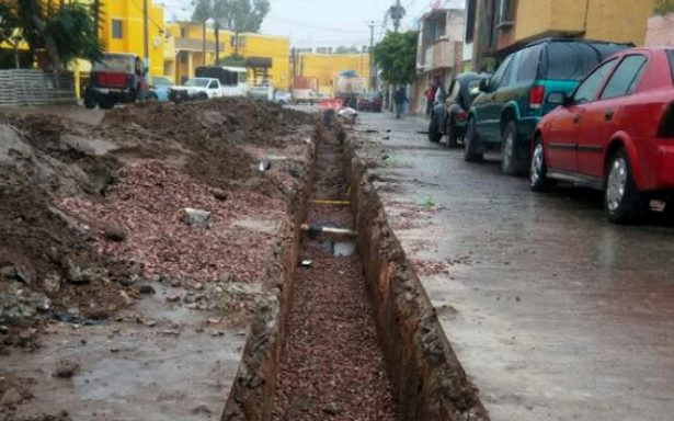Trabajos de drenaje en colonia San Antonio están por concluir
