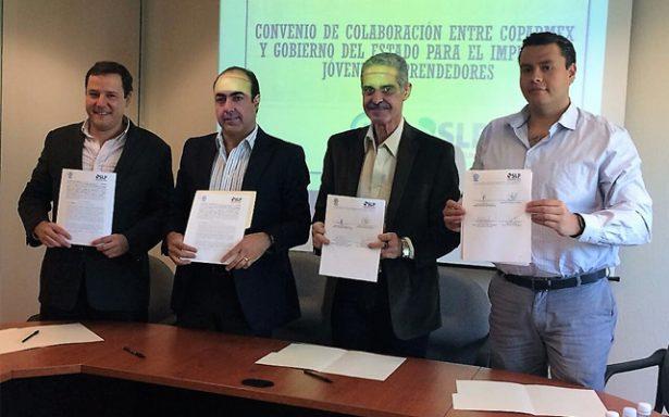 Firman convenio Coparmex, Sifide, Inpojuve y Sedeco