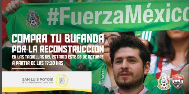 Ayuntamiento se suma a la campaña de Atlético de San Luis: #FuerzaMéxico