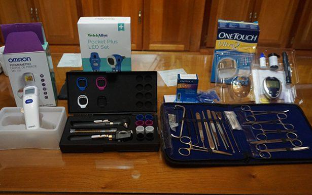 Entregan equipo de diagnóstico médico a Departamento de Salud Municipal