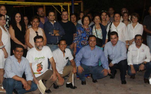 Vecinos de colonia Jacarandas y autoridades unirán esfuerzos para mejorar este sector