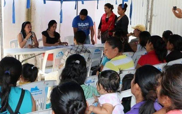 Mejorarán infraestructura de desayunadores escolares en Xilitla