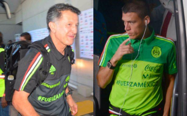 Arriba la Selección Mexicana al estadio Alfonso Lastras