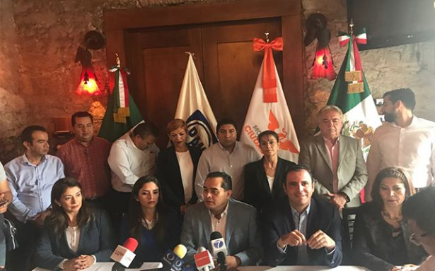 PAN y Movimiento Ciudadano forman alianza para elecciones 2018