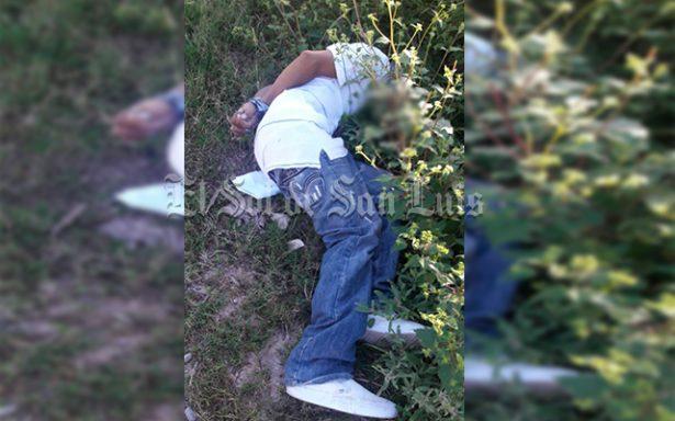 Localizan en Matehuala cadáver con huellas de tortura