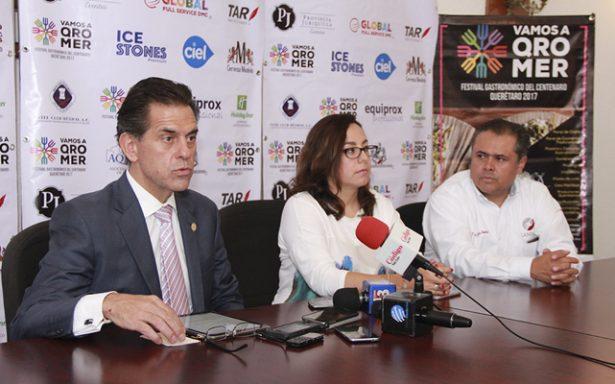 Presentaron el Festival Gastronómico Querétaro