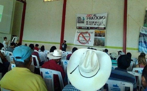 Fracking y Monterrey solo provocaran contaminación y despojo