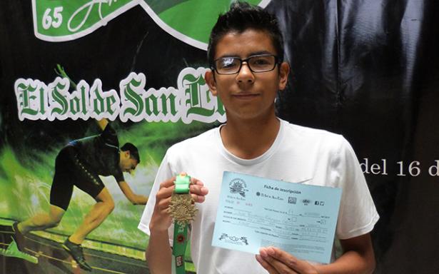 Fernando Galarza, también se inscribió para los 10K