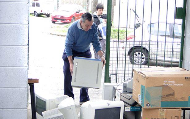 Evitarán contaminación recolectando residuos electrónicos