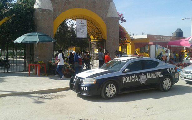 Reporta Seguridad Pública, saldo blanco por celebración de Día de Muertos