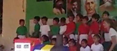 Niños celebran la Revolución Mexicana con 'perreo intenso'