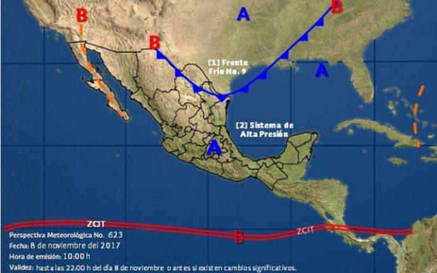 Frente Frío No 9 Impactará la Región Altiplano con temperaturas bajo cero