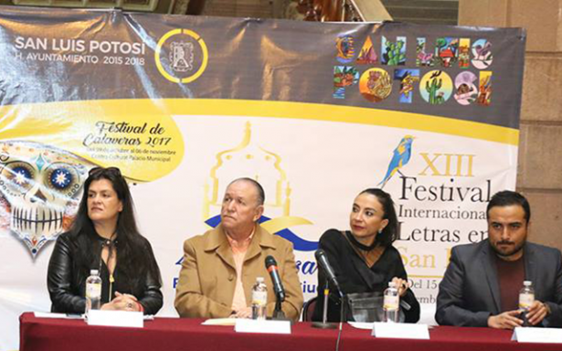 Del 15 al 18, el Festival de Letras de San Luis